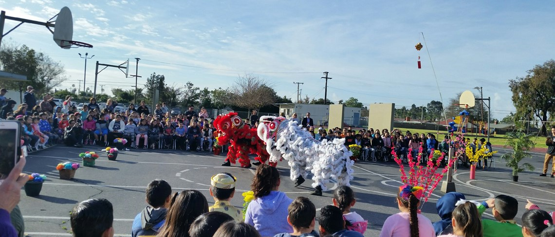 Dragon Dancers celebrate the Lunar New Year!!